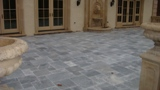 Antique Blue Marble tumbled Pavers